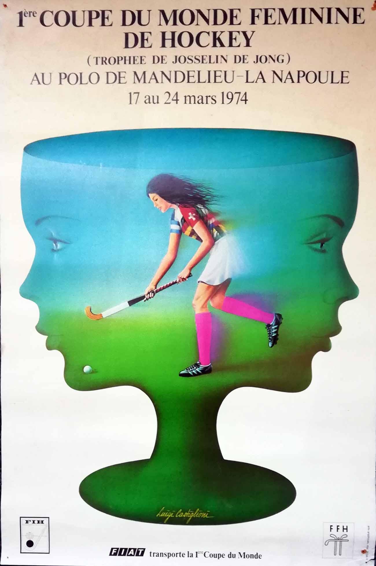 Collection : l'affiche de Mandelieu 1974 - Okey.be