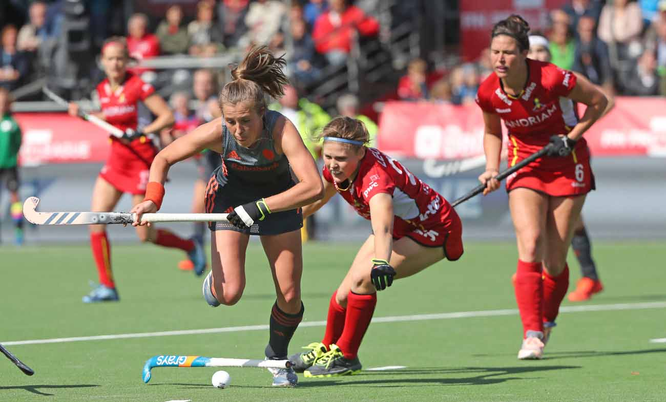 FIH : les Red Panthers 12e mondiales - Okey.be