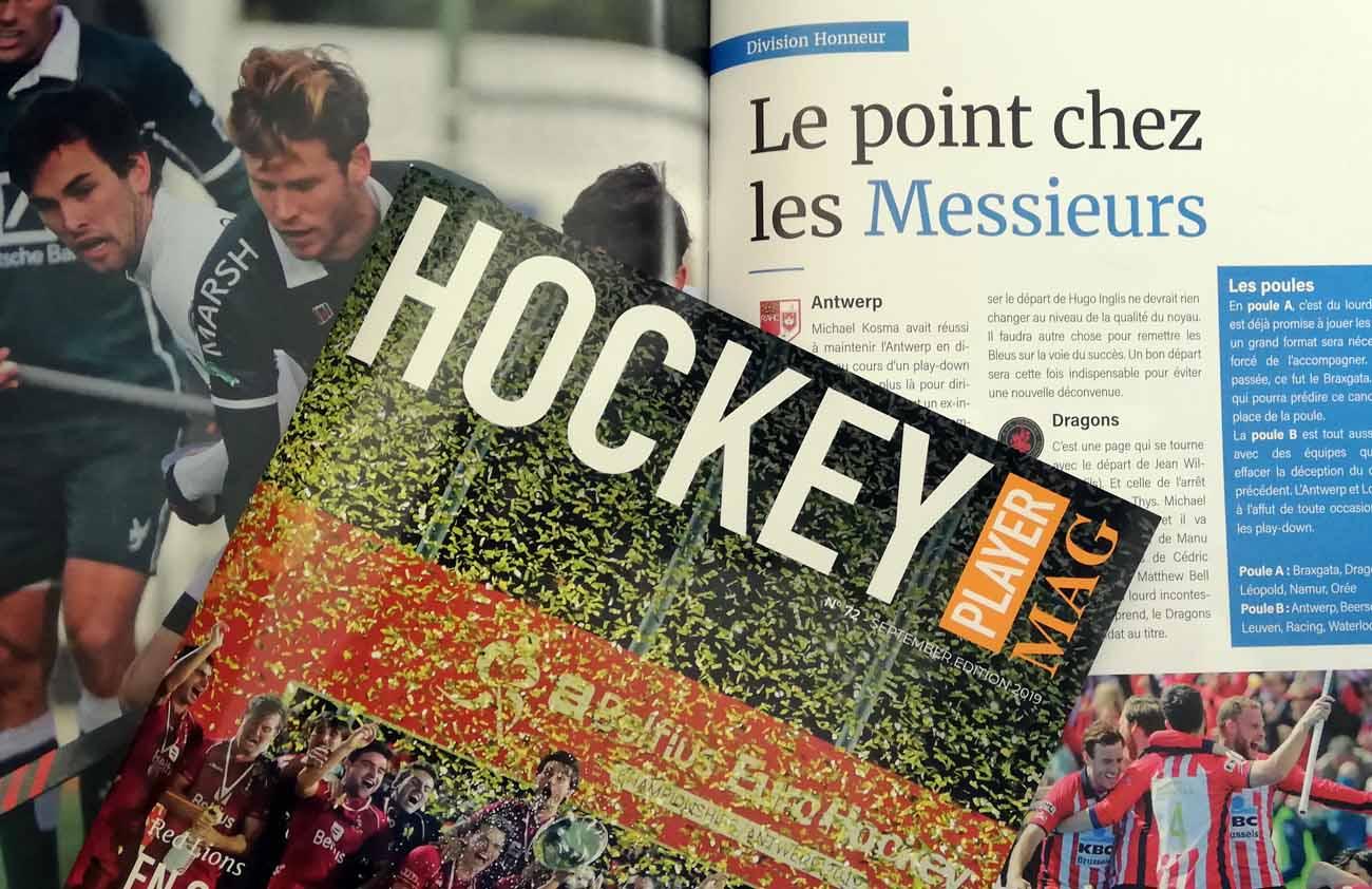 Le dernier magazine Hockey Player est sorti - Okey.be