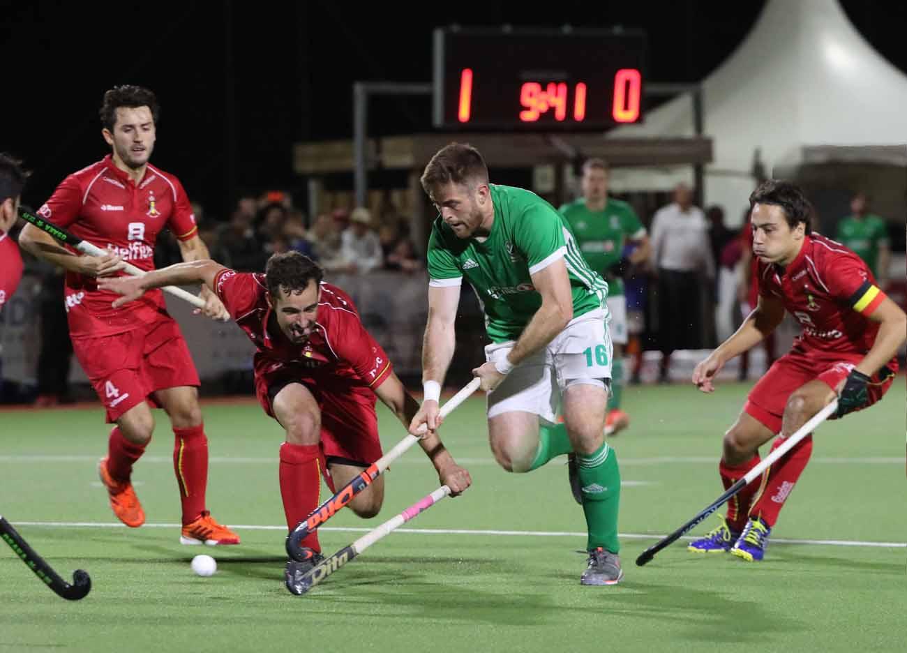 Les Red Lions impitoyables pour l'Irlande - Okey.be
